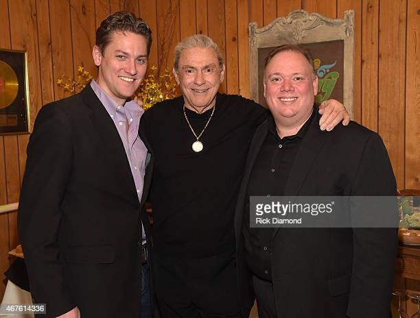 Jeremy Westby Webster PR Country Music Hall of Fame Inductee Jim Ed Brown and Kirt Webster Webster PR attend Country Music Hall of Fame inducees Jim...