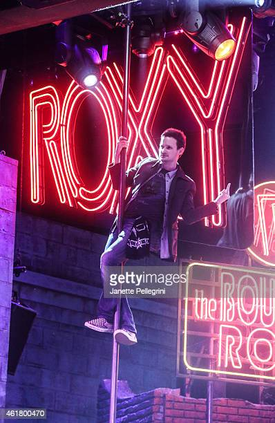 Jeremy Woodard attends 'Rock Of Ages' Final Performance On Broadway at Helen Hayes Theatre on January 18 2015 in New York City