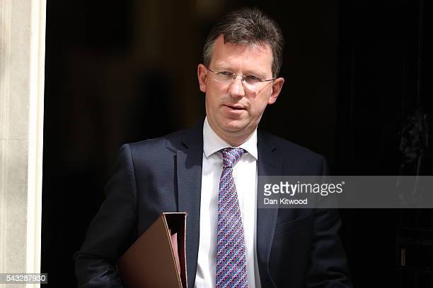 Jeremy Wright QC Attorney General leaves Downing Street following a cabinet meeting on June 27 2016 in London England British Prime Minister David...