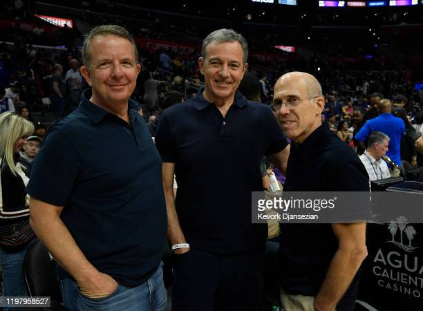 Jeremy Zimmer Chief Executive Officer of United Talent Agency Bob Iger Chairman and Chief Executive Officer of The Walt Disney Company and Jeffrey...