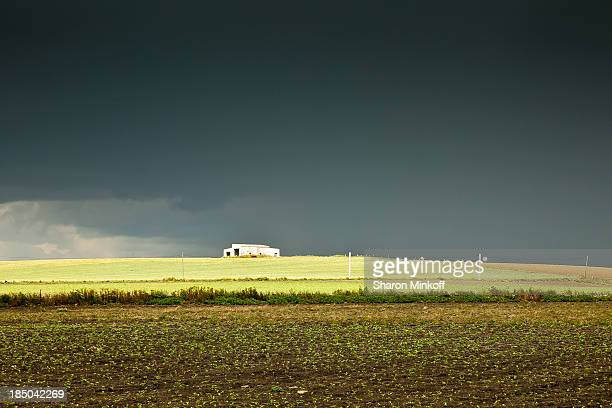 Jerez de la Frontera, Cadiz, Spain. A farm in the eye of the storm