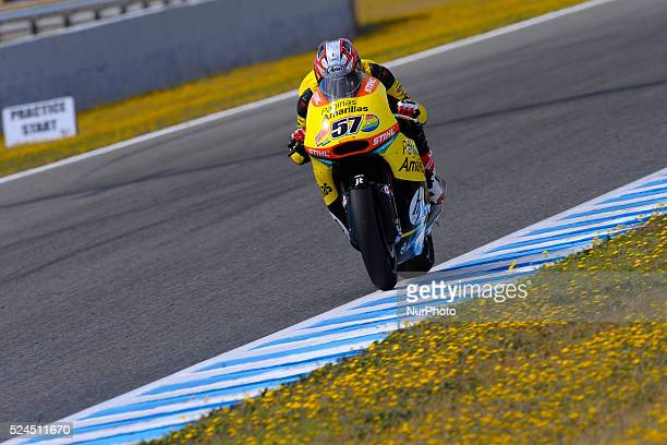 Jerez de la Frontera SPAIN 01 of May 2015 BWIN Grand Prix of Spain Circuit de Jerez In the photo #57 Edgar PONS Paginas Amarillas HP 40