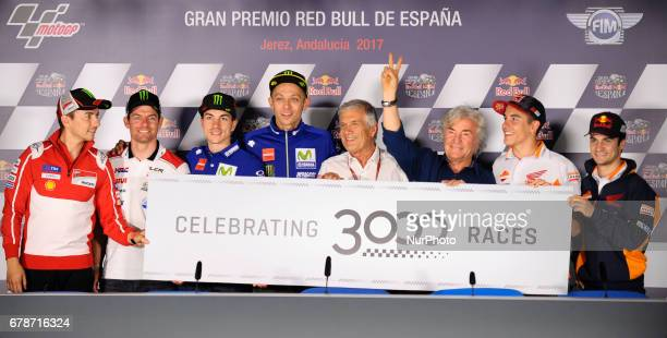 Jerez de la frontera SPAIN 4th of May 2017 Gran Premio Red Bull of Spain Press conference REPSOL HONDA TEAM HONDA MARC MARQUEZ REPSOL HONDA TEAM...