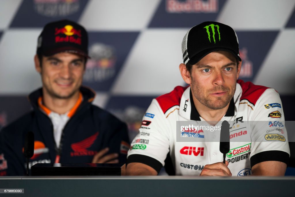 Jerez de la frontera, SPAIN - 6th of May, 2017: Gran Premio Red Bull of Spain. Press conference after qualifying. LCR
