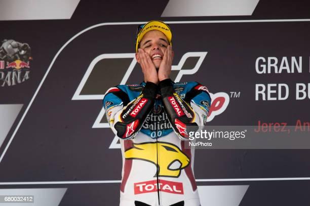 Jerez de la frontera SPAIN 7th of May 2017 Gran Premio Red Bull of Spain Alex Marquez Eg 00 Marc Vds Kalex Champion race of Moto2