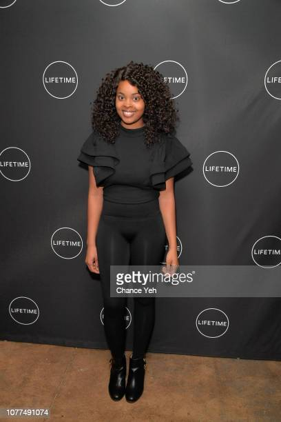 Jerhonda Pace attends Lifetime / NeueHouse Luminaries series 'Surviving R Kelly' documentary screening and conversation at Neuehouse NY on December...