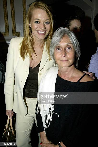 Jeri Ryan and Twyla Tharp during 'Movin' Out' Special Performance and After Party at The Richard Rogers Theater in New York City New York United...