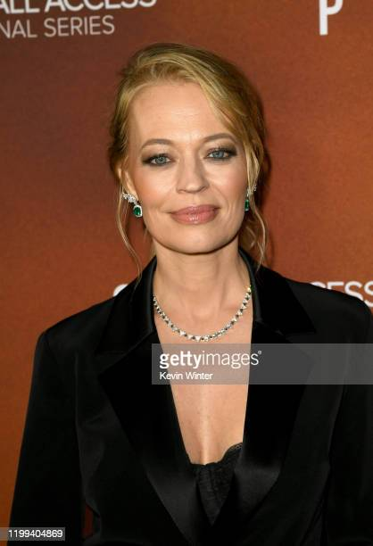 """Jeri Ryan arrives at the premiere of CBS All Access' """"Star Trek: Picard"""" at ArcLight Cinerama Dome on January 13, 2020 in Hollywood, California."""