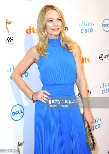 Jeri Ryan arrives for the 11th Annual Lumiere Awards held at Stephen J Ross Theatre On The Warner Bros Lot on January 22 2020 in Burbank California