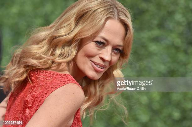 Jeri Ryan attends the 2018 Creative Arts Emmy Awards at Microsoft Theater on September 8, 2018 in Los Angeles, California.