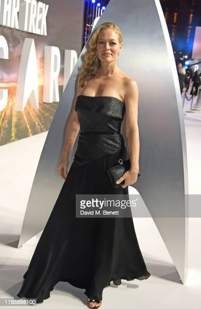 Jeri Ryan attends the European Premiere of Amazon Original Star Trek Picard at Odeon Luxe Leicester Square on January 15 2020 in London England