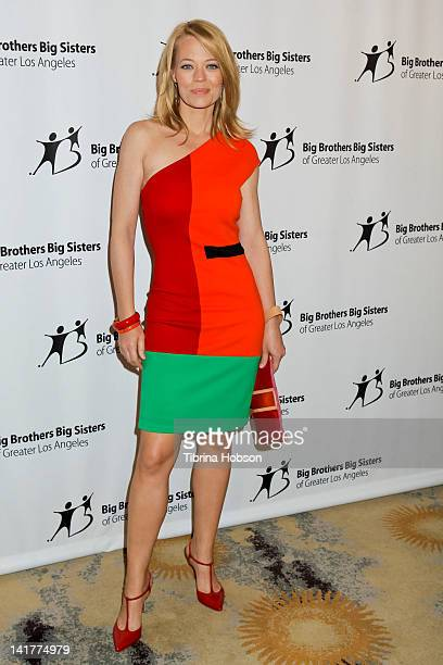 Jeri Ryan attends The Guild of Big Brothers Big Sisters of Greater Los Angeles annual Accessories for Success Spring Luncheon and Fashion Show at...