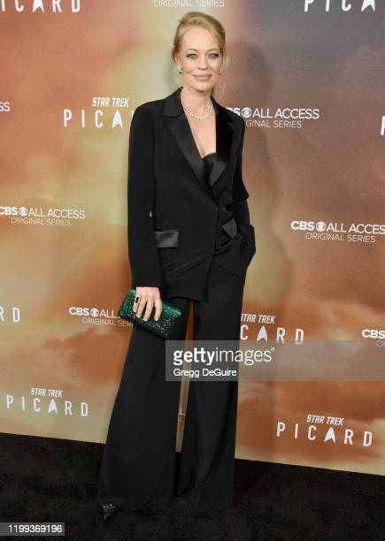 "Jeri Ryan attends the Premiere Of CBS All Access' ""Star Trek: Picard"" at ArcLight Cinerama Dome on January 13, 2020 in Hollywood, California."