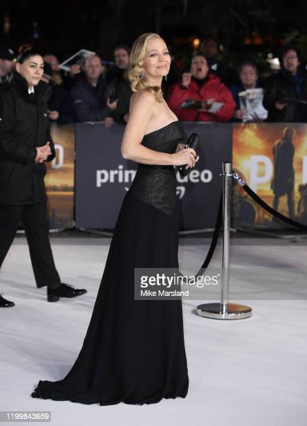 "Jeri Ryan attends the ""Star Trek Picard"" UK Premiere at Odeon Luxe Leicester Square on January 15, 2020 in London, England."