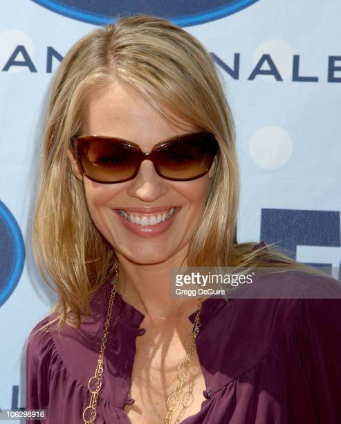 Jeri Ryan during American Idol Season 6 Finale Arrivals at Kodak Theatre in Hollywood California United States