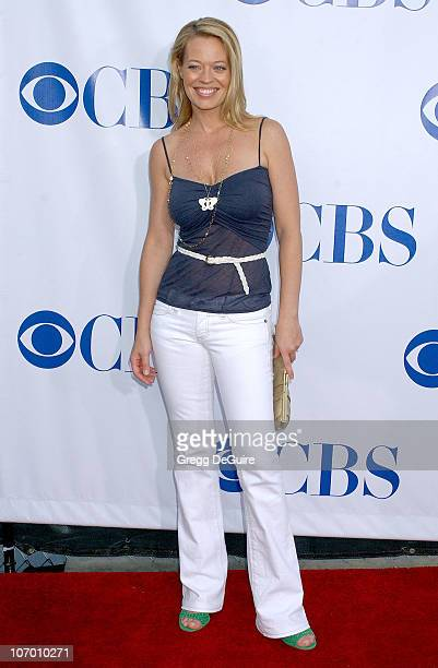 Jeri Ryan during CBS Summer 2006 TCA Press Tour Party Arrivals at Rose Bowl in Pasadena California United States