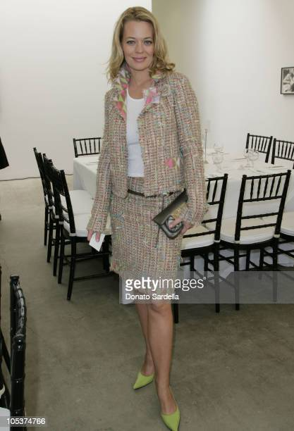 Jeri Ryan during Chanel Fine Jewelry and Haute Couture Luncheon at Sandroni Rey Gallery in Los Angeles California United States