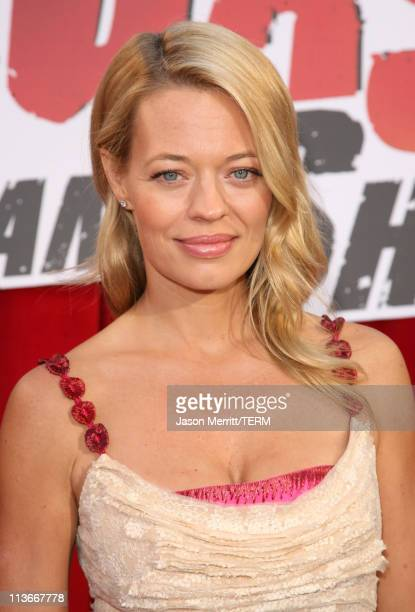 Jeri Ryan during Comedy Central's Roast of William Shatner Red Carpet at CBS Studio Center in Studio City California United States
