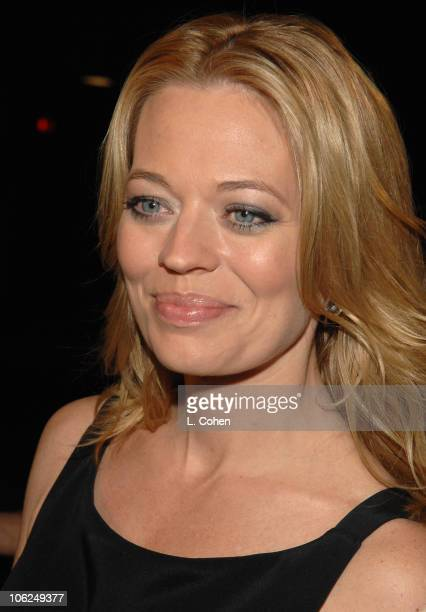 Jeri Ryan during Dreamgirls Los Angeles Premiere Red Carpet at Wilshire Theater in Los Angeles California United States