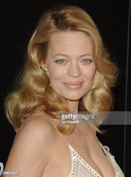 Jeri Ryan during Eighth Annual Costume Designers Guild Awards Gala Arrivals at Beverly Hilton Hotel in Beverly Hills California United States