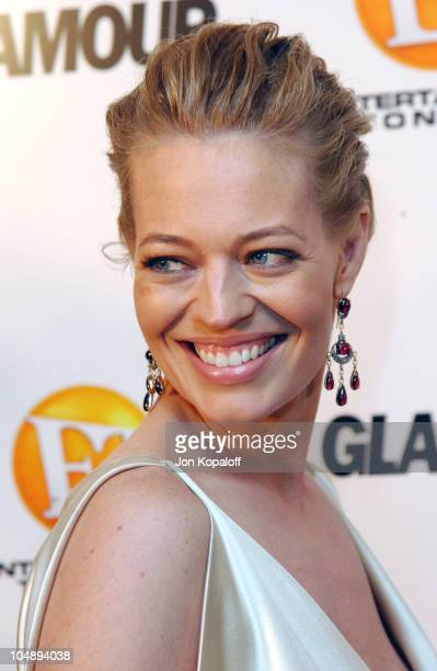 Jeri Ryan during Entertainment Tonight Glamour Magazine Celebrate The 55th Annual Emmy Awards at Mondrian Hotel in West Hollywood California United...