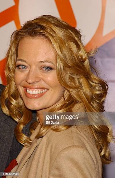 Jeri Ryan during FOX TV Network 2003 2004 UpFront Party at Ciprianis at Grand Central Station in New York City, New York, United States.