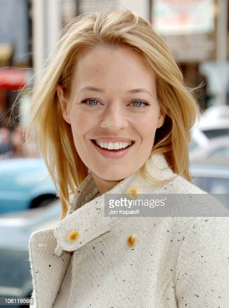 Jeri Ryan during 'Happy Feet' World Premiere Arrivals at Grauman's Chinese Theatre in Hollywood California United States