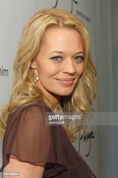 Jeri Ryan during Paige Premium Denim Party Red Carpet and Inside at Paige Premium Denim Flagship Store in Beverly Hills California United States