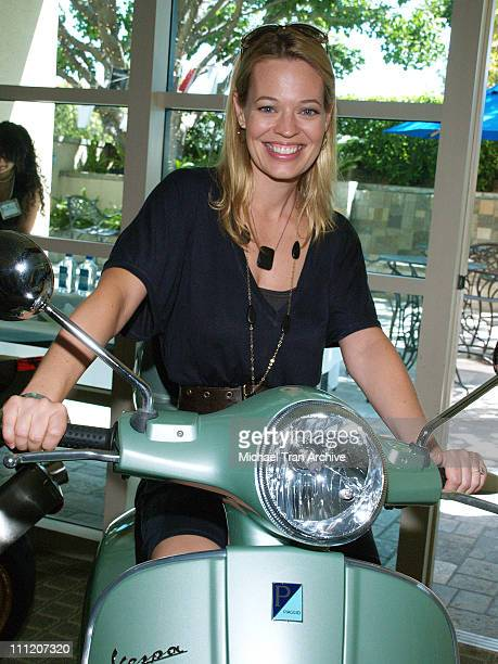 Jeri Ryan during Platinum Luxury Celebrity Gifting Suite at Le Meridien in Beverly Hills California United States