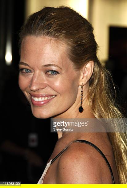 Jeri Ryan during Prada Celebrates the Los Angeles Opening of Waist Down Skirts By Miuccia Prada at Prada in Hollywood California United States