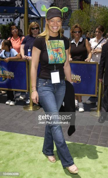 Jeri Ryan during Premiere of Shrek 4D Attraction at Universal Studios Hollywood Arrivals at Universal Studios in Universal City California United...