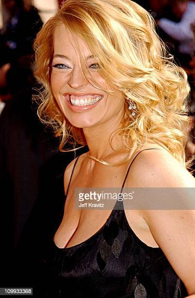 Jeri Ryan during The 54th Annual Primetime Emmy Awards Arrivals at The Shrine Auditiorium in Los Angeles California United States