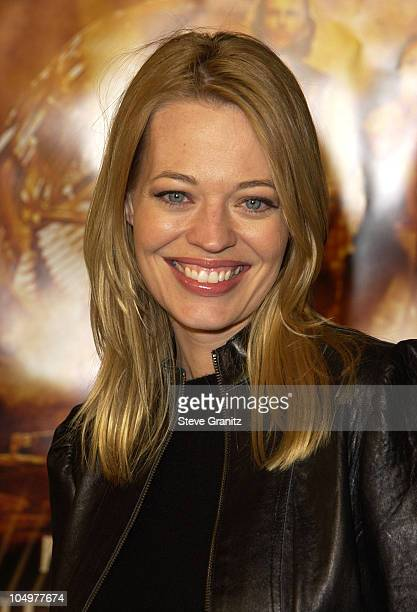 "Jeri Ryan during ""The Time Machine"" Premiere at Mann Village Theatre in Westwood, California, United States."