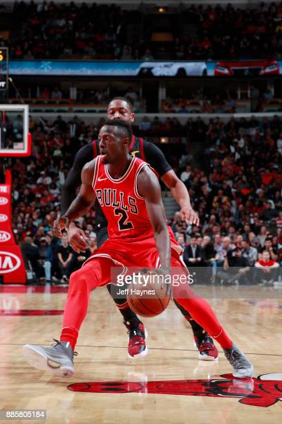 Jerian Grant of the Chicago Bulls handles the ball against the Cleveland Cavaliers on December 4 2017 at the United Center in Chicago Illinois NOTE...