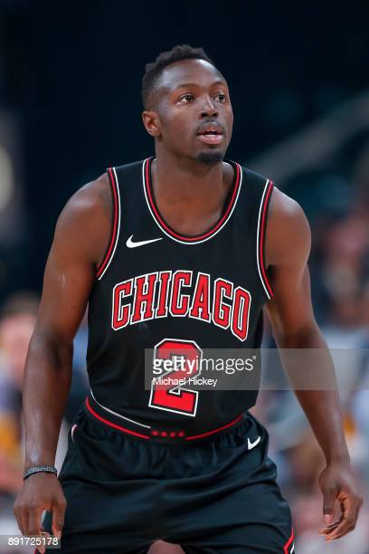 Jerian Grant of the Chicago Bulls is seen during the game against the Indiana Pacers at Bankers Life Fieldhouse on December 6 2017 in Indianapolis...