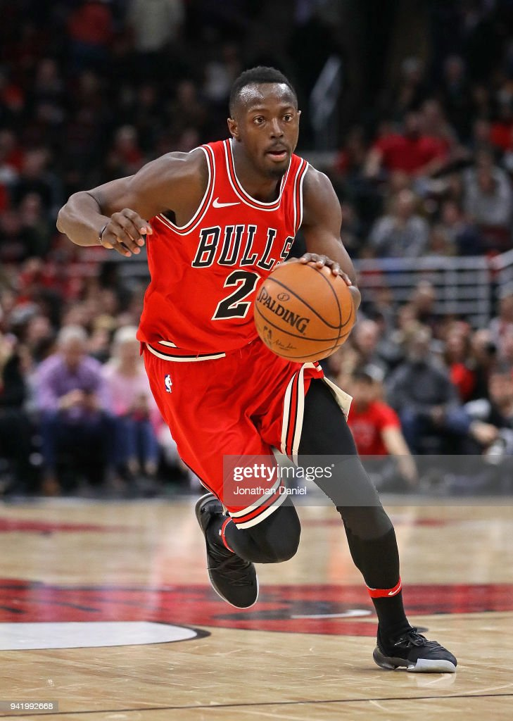 Jerian Grant of the Chicago Bulls moves against the