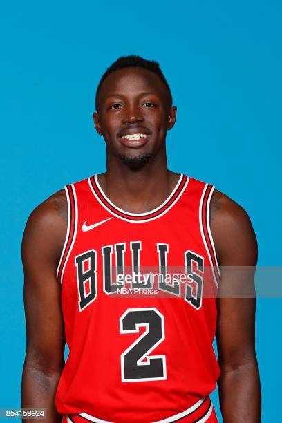 Jerian Grant of the Chicago Bulls poses for a head shot during NBA Media Day on September 25 2017 at the Advocate Center in Chicago Illinois NOTE TO...