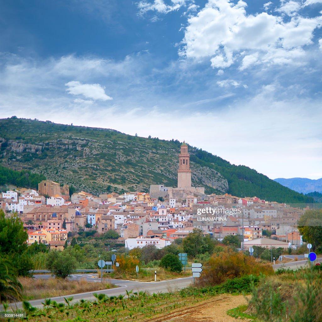 Jerica village Castellón cityscape en España : Foto de stock