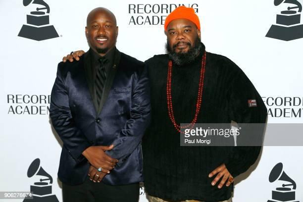 Jeriel Johnson Executive Director of The Recording Academy Washington DC Chapter and Kokayi President of The Recording Academy Washington DC Chapter...