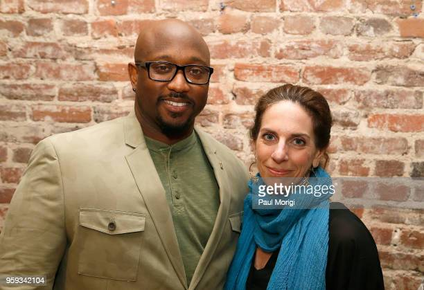 Jeriel Johnson Executive Director The Recording Academy DC Chapter and Jennifer Leff LCSW Senior Director MusiCares attend the Vocal Health Clinic...