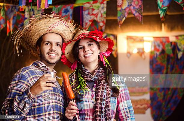 festa junina - redneck stock photos and pictures