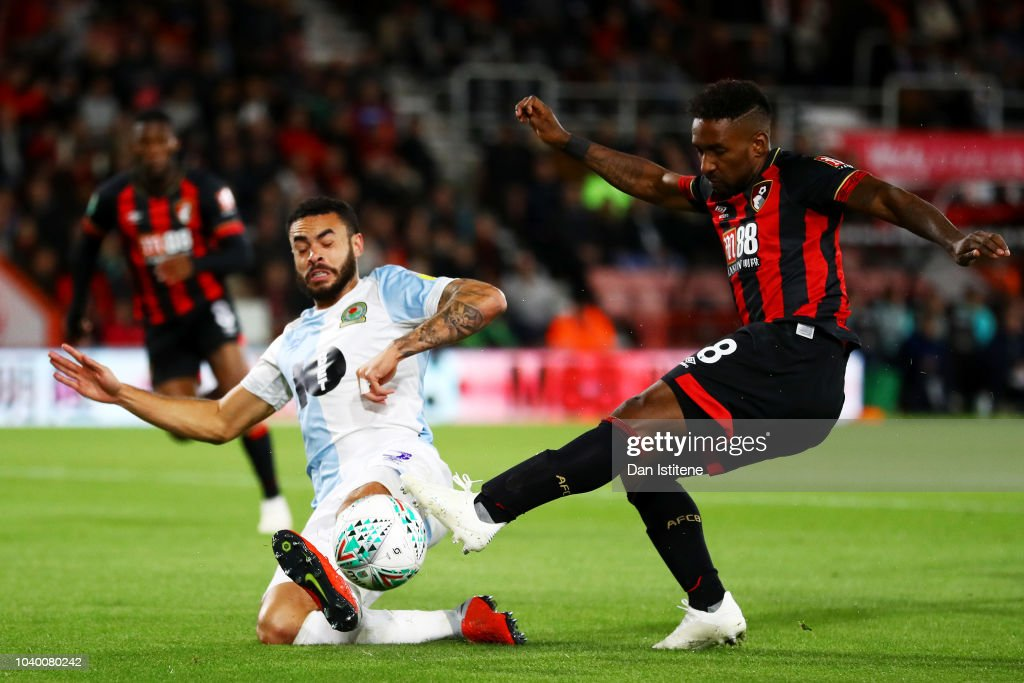 AFC Bournemouth v Blackburn Rovers - Carabao Cup Third Round : News Photo