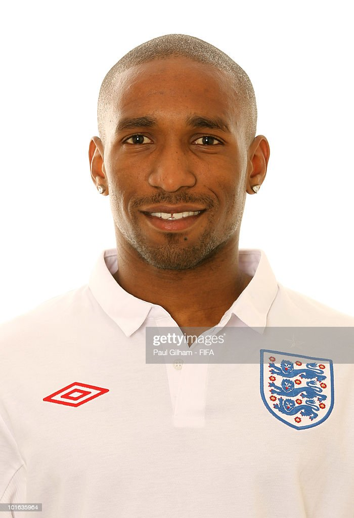 Jermain Defoe of England poses during the official FIFA World Cup 2010 portrait session on June 4, 2010 in Rustenburg, South Africa.