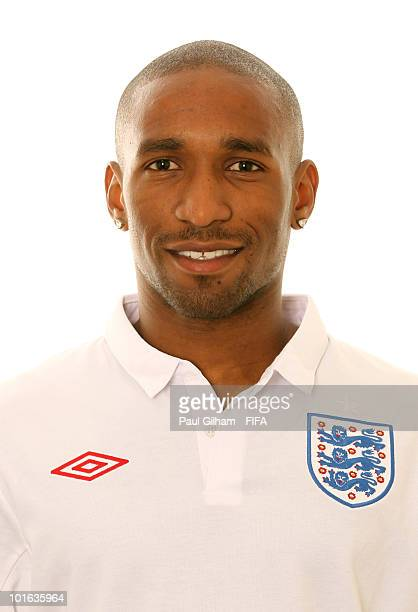 Jermain Defoe of England poses during the official FIFA World Cup 2010 portrait session on June 4 2010 in Rustenburg South Africa