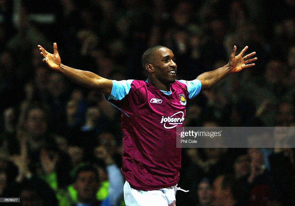 Jermain Defoe  of West Ham  : Foto di attualità