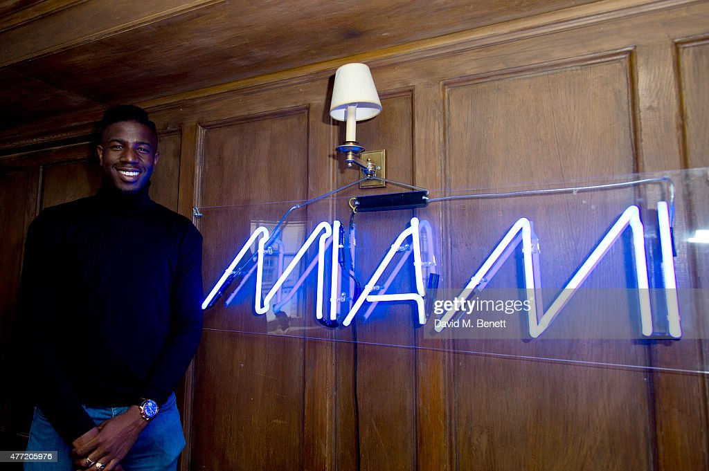 Jermain Jackman attends the Miami in London Party at Soho House on June 14, 2015 in London, England.