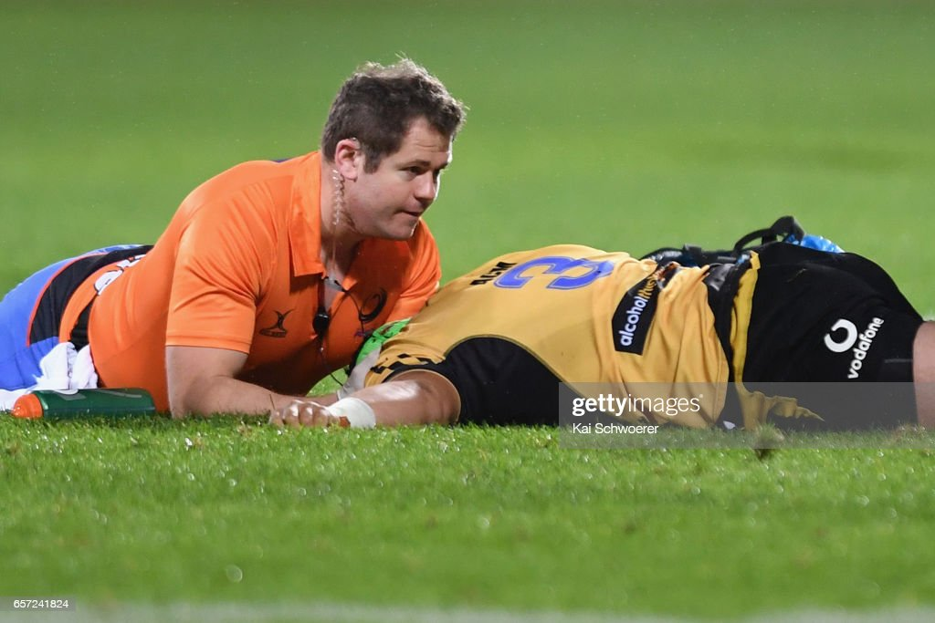 Super Rugby Rd 5 - Crusaders v Force : Nieuwsfoto's