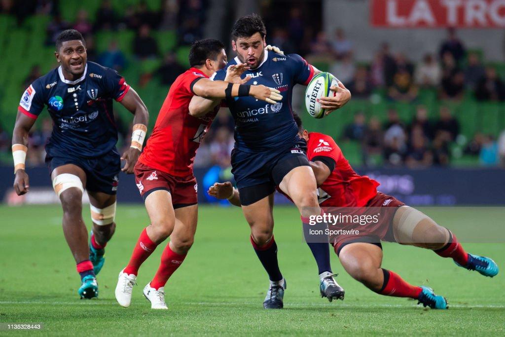 RUGBY: APR 06 Super Rugby - Sunwolves at Melbourne Rebels : News Photo