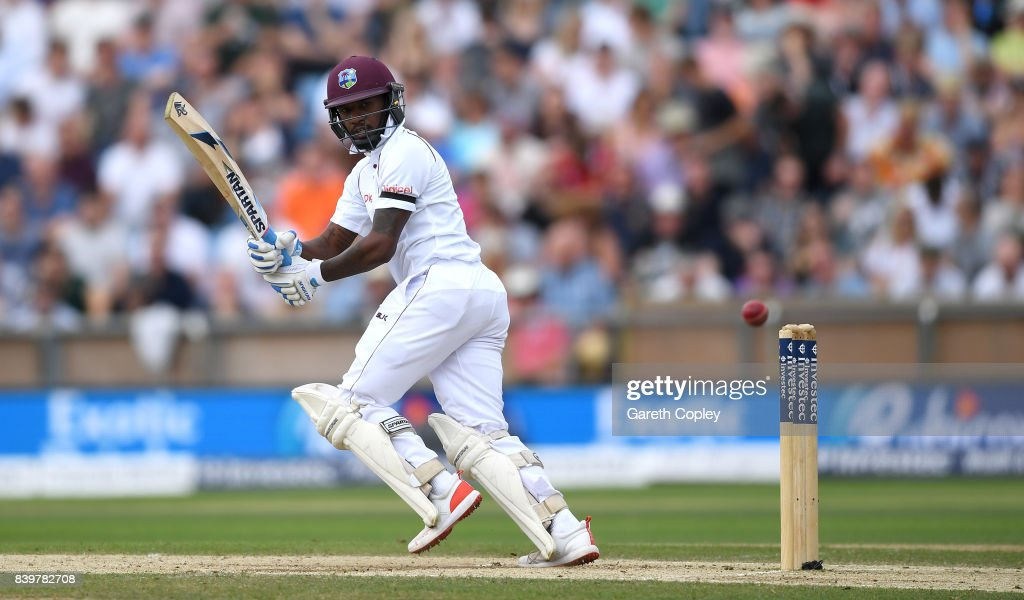England v West Indies - 2nd Investec Test: Day Three : News Photo