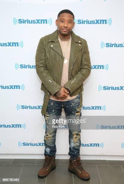 Jermaine Coleman aka Maino visits at SiriusXM Studios on October 26 2017 in New York City